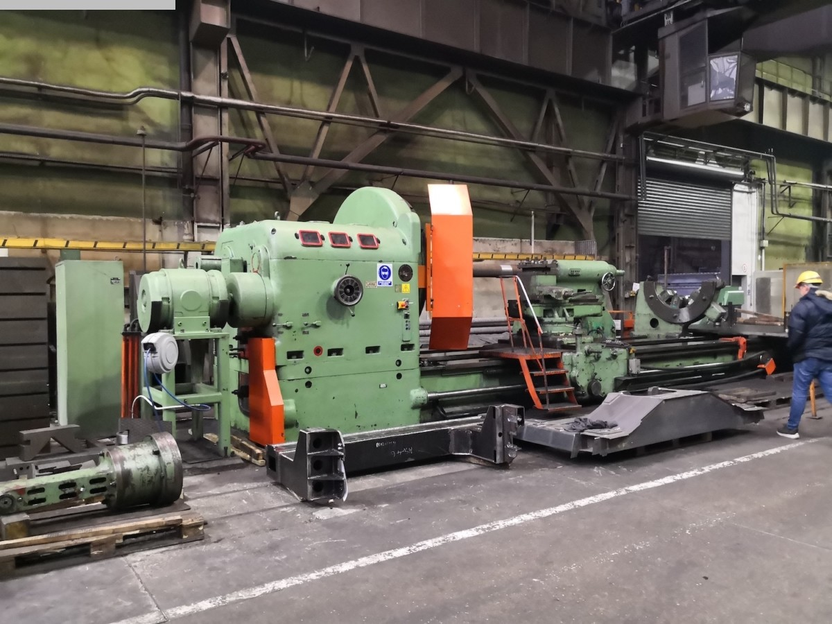 used Heavy Duty Lathe SKODA SR 2000 x 8000