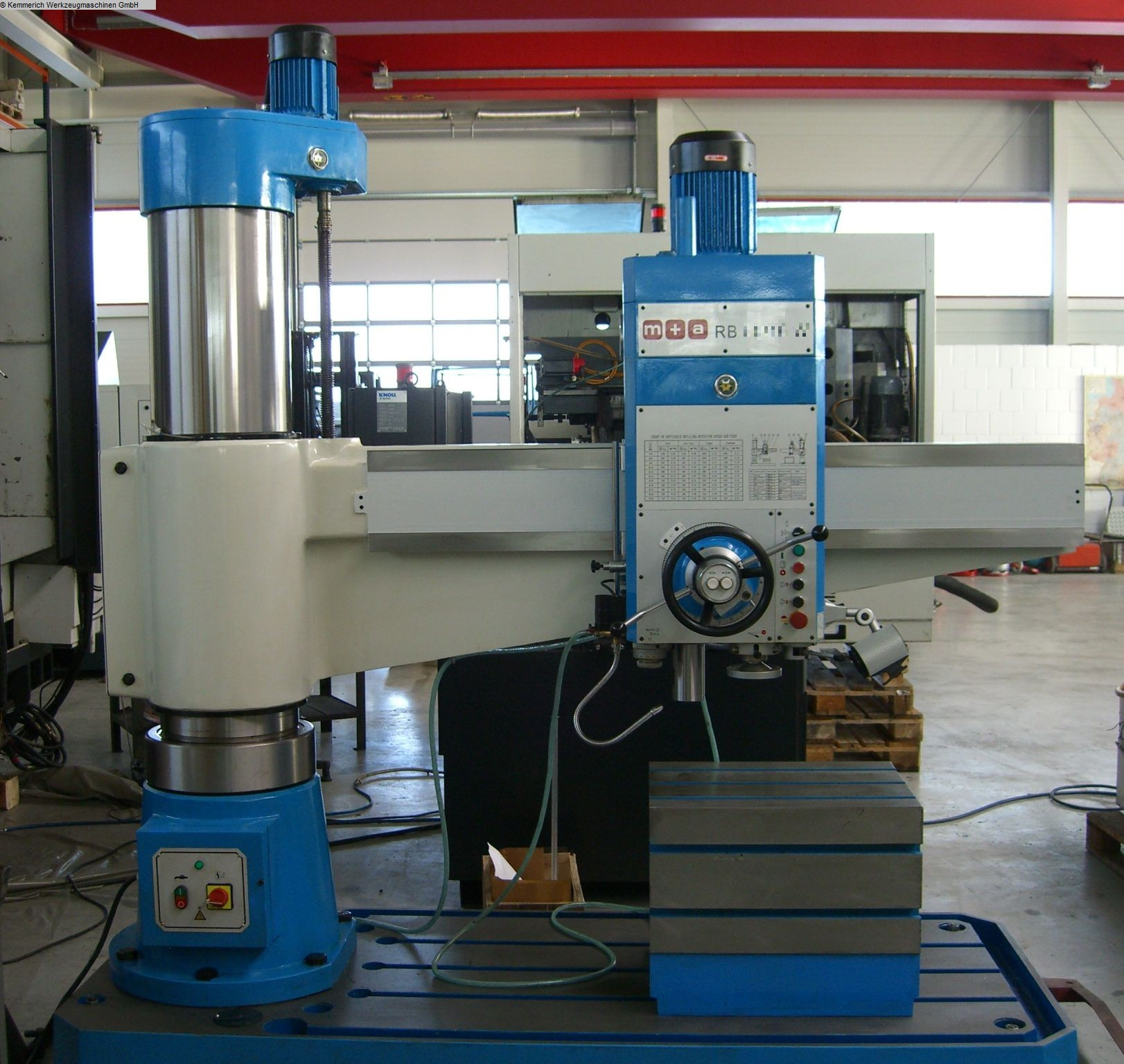gebrauchte Bohrwerke / Bearbeitungszentren / Bohrmaschinen Radialbohrmaschine M+A RB 63/20
