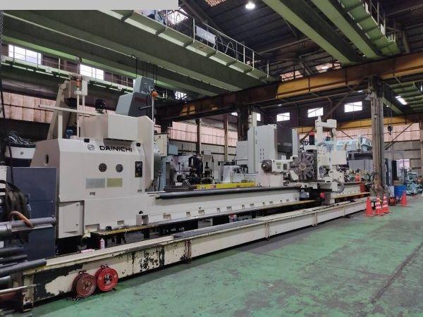 gebrauchte Drehmaschinen Schwerdrehmaschine DAINICHI M-132R x 11000