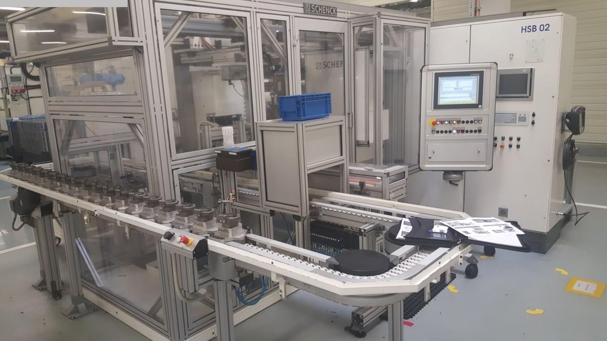 gebrauchte Sonstige Metallbearbeitungsmaschinen Auswuchtmaschine SCHENCK 210 FBTS