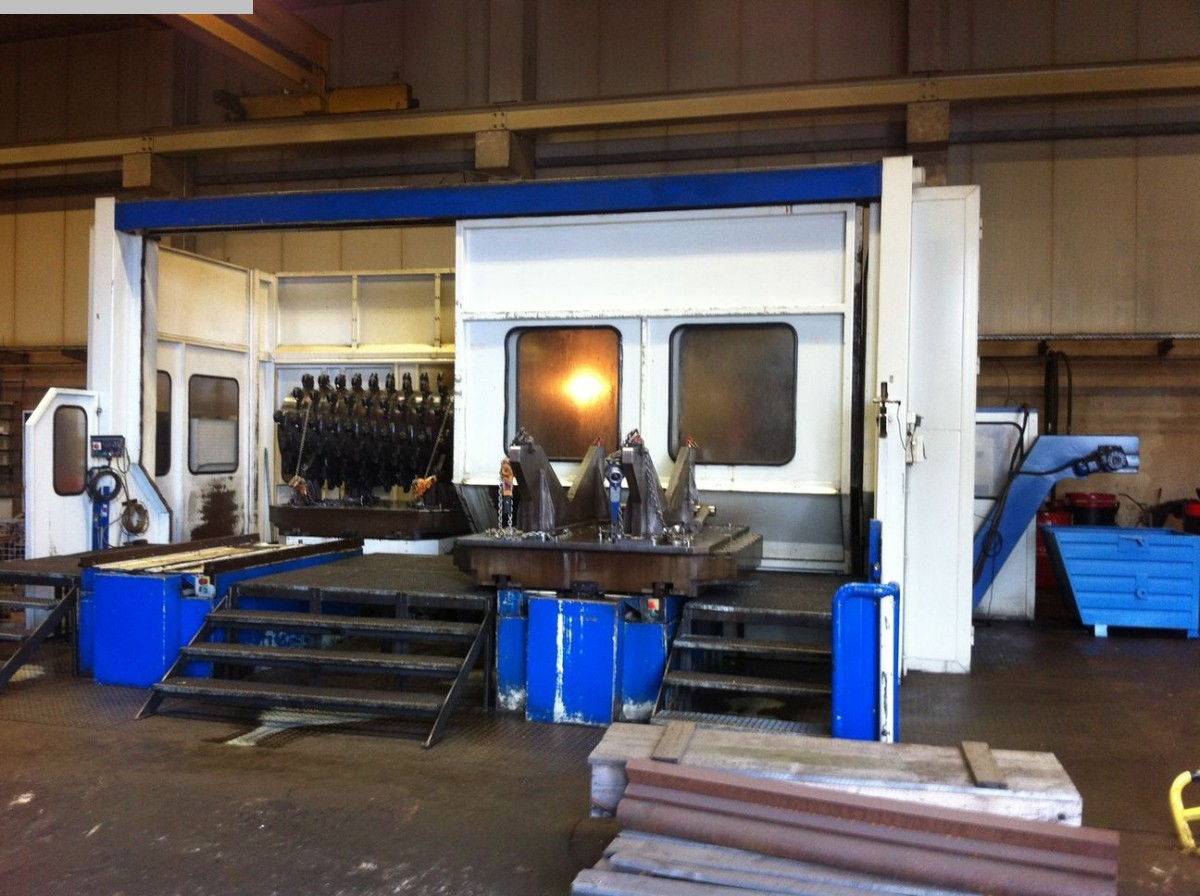 used Boring mills / Machining Centers / Drilling machines Table Type Boring and Milling Machine TOS-VARNSDORF WHQ 130 MC