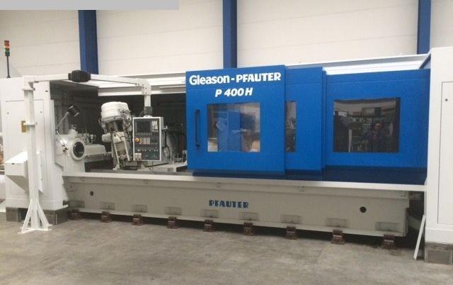 gebrauchte Verzahnungsmaschinen Zahnrad-Abwälzfräsmaschine - horizontal GLEASON-PFAUTER P 400 H x 4000 CNC