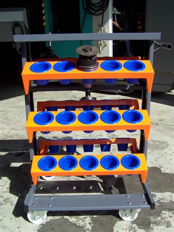 gebrauchte  Werkzeughalter ROSENBOOM Werkzeugwagen