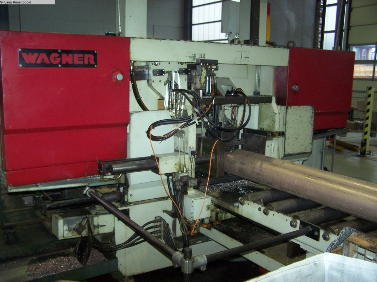 used  Band Saw - Automatic Wagner WPB 520 A