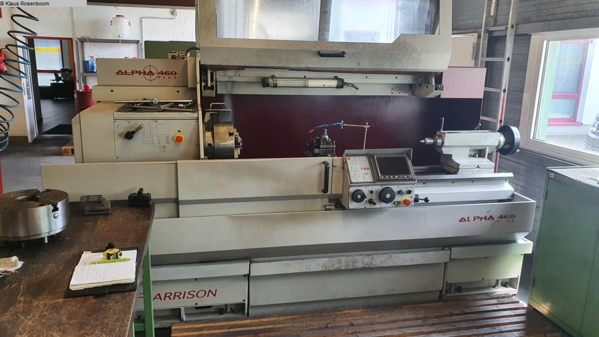 used  CNC Lathe HARRISON ALPHA 460 Plus