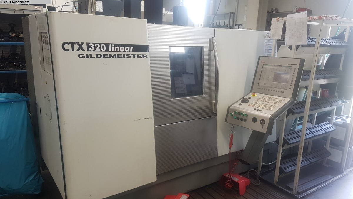 used  CNC Turning- and Milling Center Gildemeister CTX 320 V6 linear
