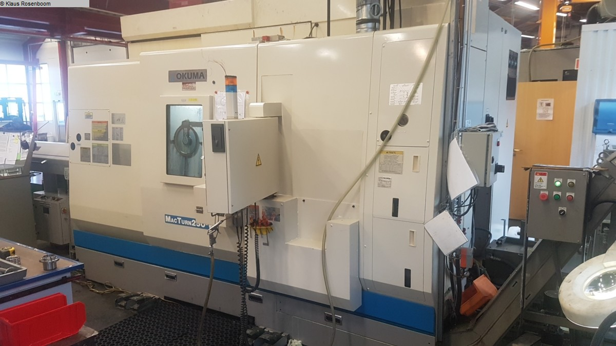 used CNC Turning- and Milling Center OKUMA Mac Turn 250 W