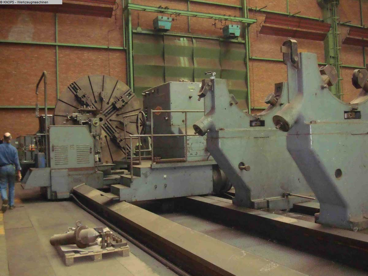 gebrauchte Maschine Schwerdrehmaschine CRAVEN 80,5