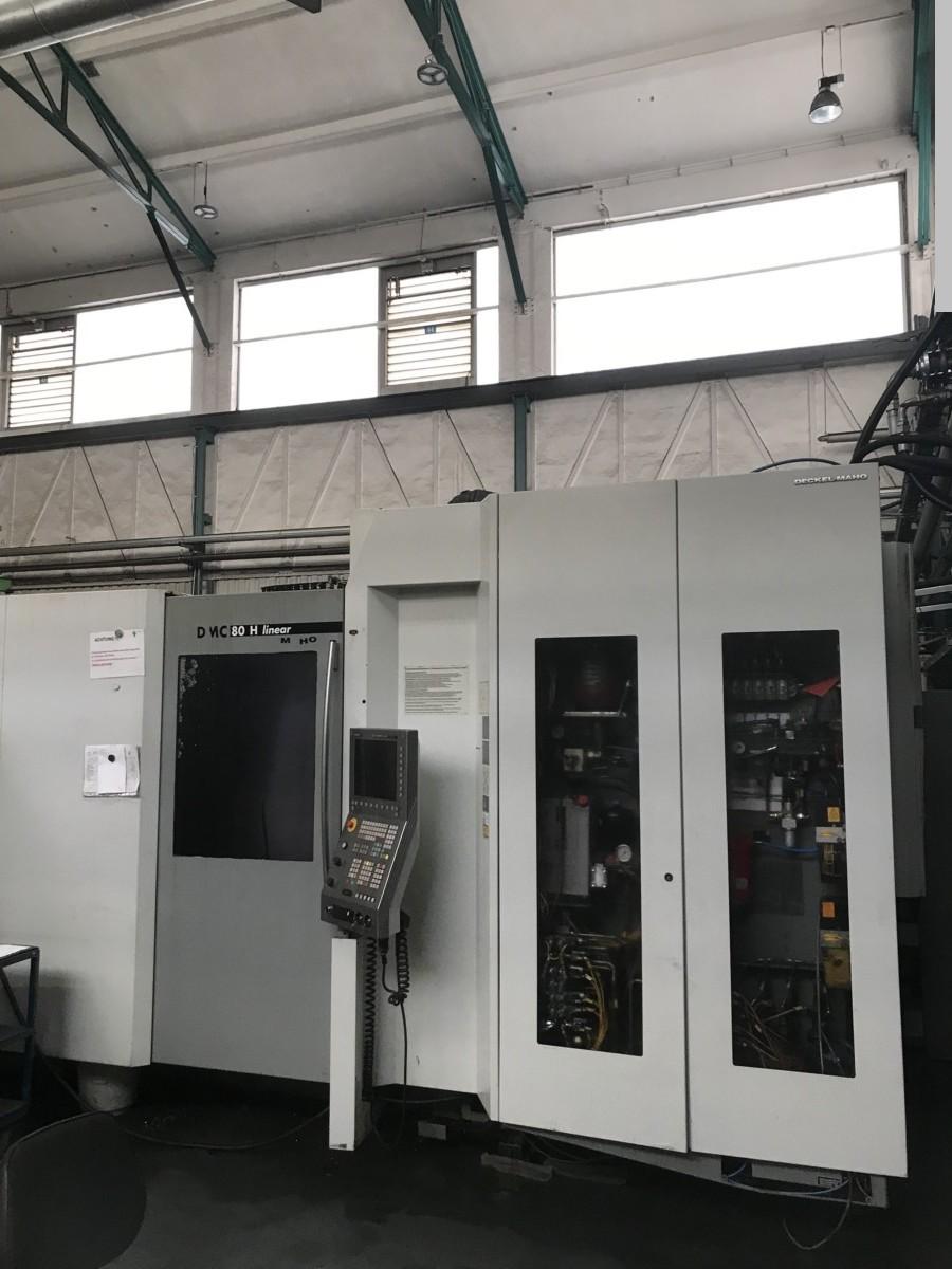 gebrauchte Fräsmaschinen Bearbeitungszentrum - Horizontal DECKEL-MAHO (DMG) DMC 80 H Linear - RS 4