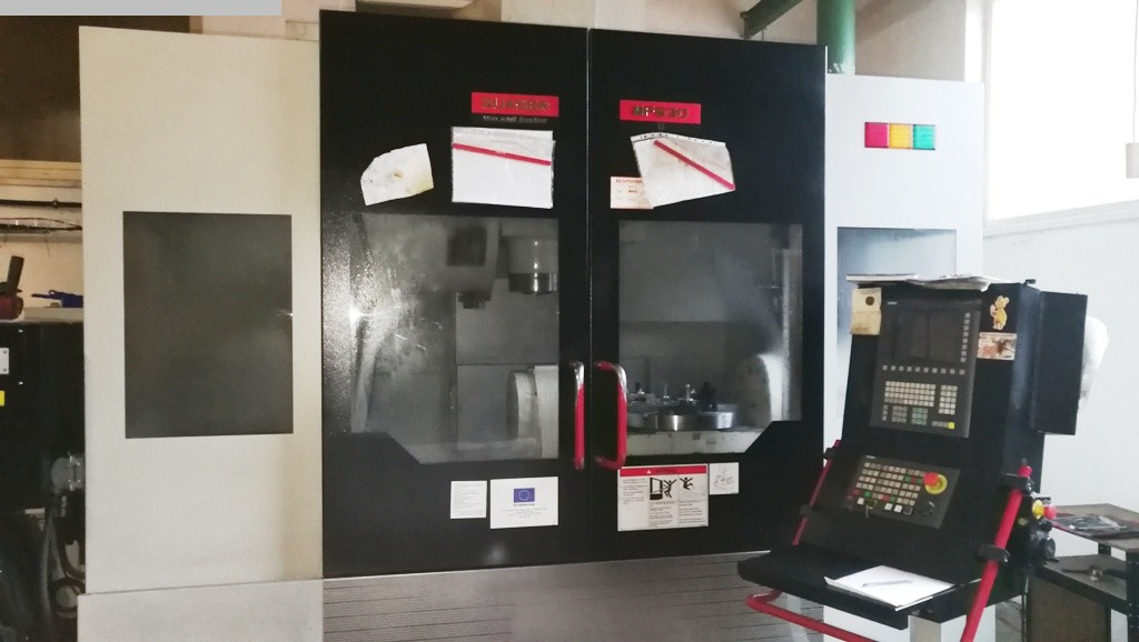 gebrauchte Bohrwerke / Bearbeitungszentren / Bohrmaschinen Bearbeitungszentrum - Universal QUASER MF 630C