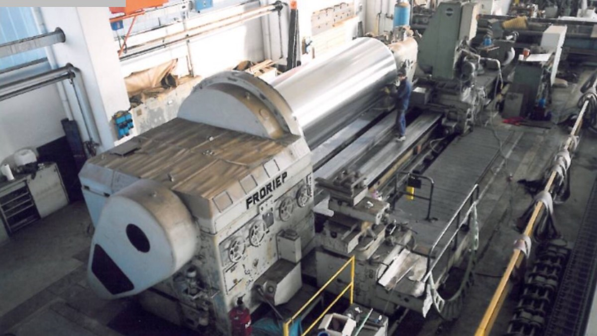 used Lathes Heavy Duty Lathe FRORIEP 4000 x 13000