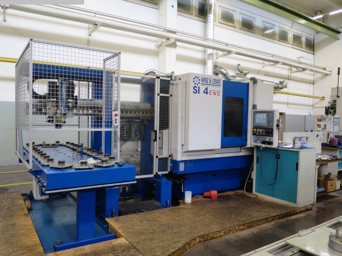 gebrauchte Schleifmaschinen Innenschleifmaschine WMW / Winz & Lemke SI 4 CNC
