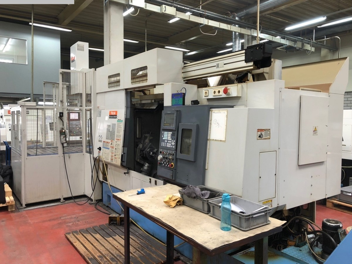 gebrauchte  CNC Dreh- und Fräszentrum MAZAK Integrex 200 SY + GL100C