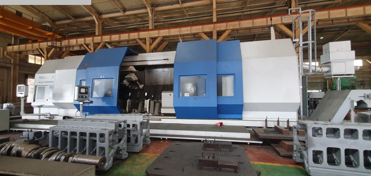 used  CNC Turning- and Milling Center NILES-SIMMONS N 50 MC / 6000