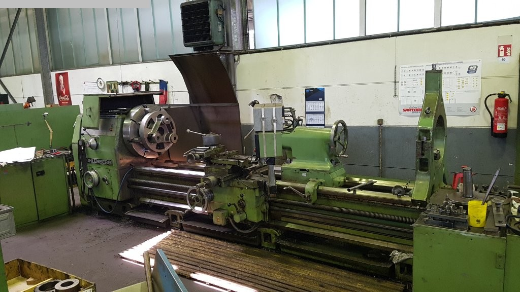 used  Center Lathe WOHLENBERG V 1000