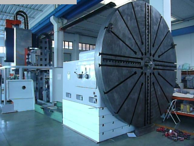 used  Facing and Centering Lathe WMW ZERBST DP 4000 ... DP 5000
