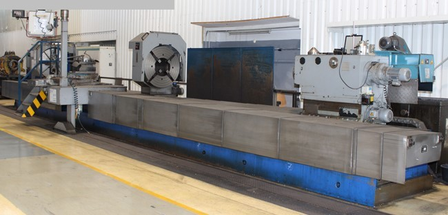 used  Heavy Duty Lathe QIQIHAR HT125x110/12