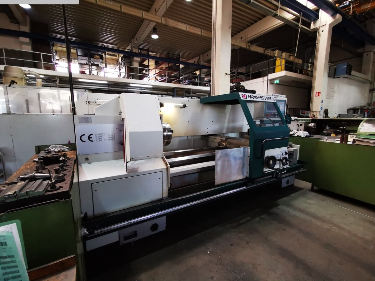 used  Lathe -  cycle-controlled MONFORTS KNC 6 2000