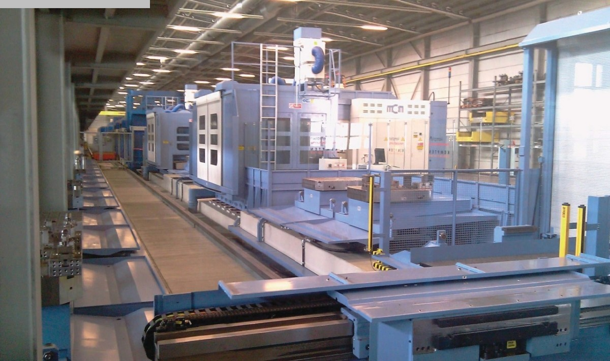 used  Machining Center - Horizontal MCM ACTION 2600 FFS
