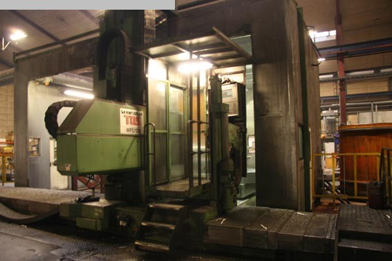 used Ram-Type Floor Boring and Milling M/C TOS WRD 130