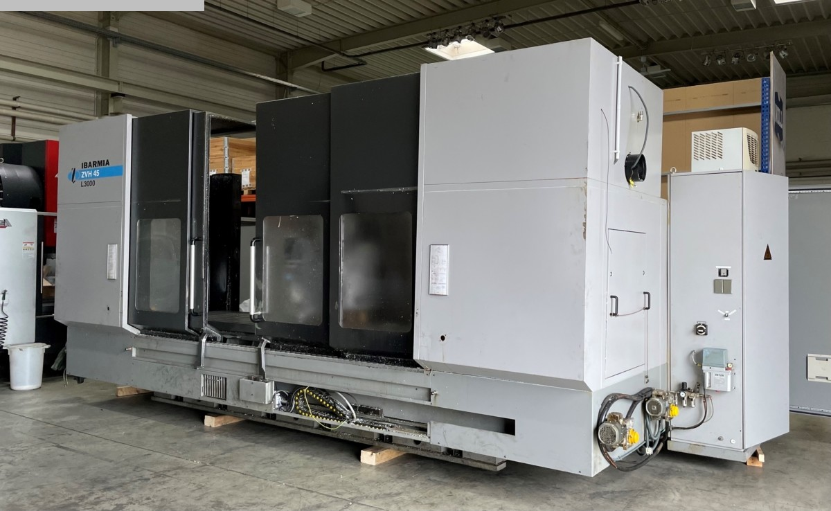 used Milling machines milling machining centers - universal IBARMIA ZVH 45 / L 3000