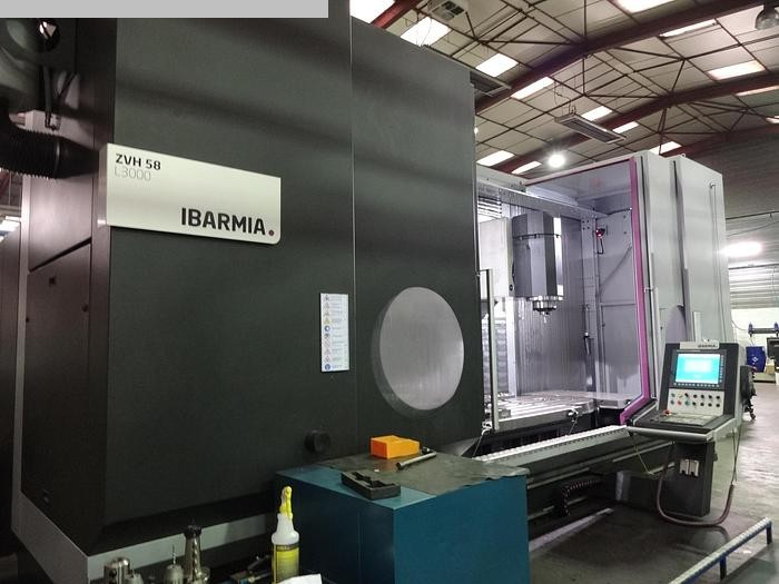 used Milling machines milling machining centers - universal IBARMIA ZVH 58 / L 3000