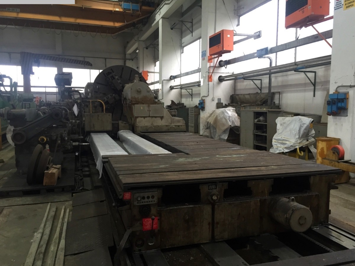 used Heavy Duty Lathe FRORIEP 4000 x 13000