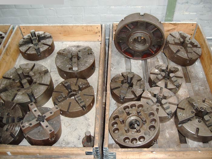used Other accessories for machine tools Faceplate PLANSCHEIBEN