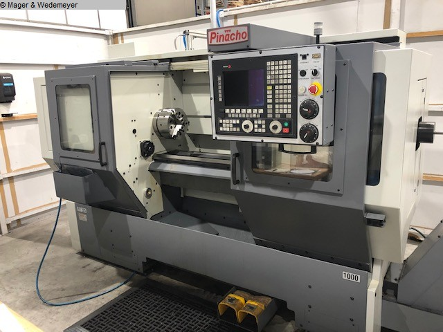 used Lathes Lathe -  cycle-controlled PINACHO ST 225x1000