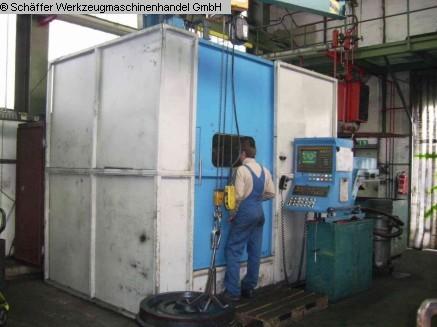 CNC-Karusselldrehmaschine - Einständer TOS (FEICHTER) SKQ 8