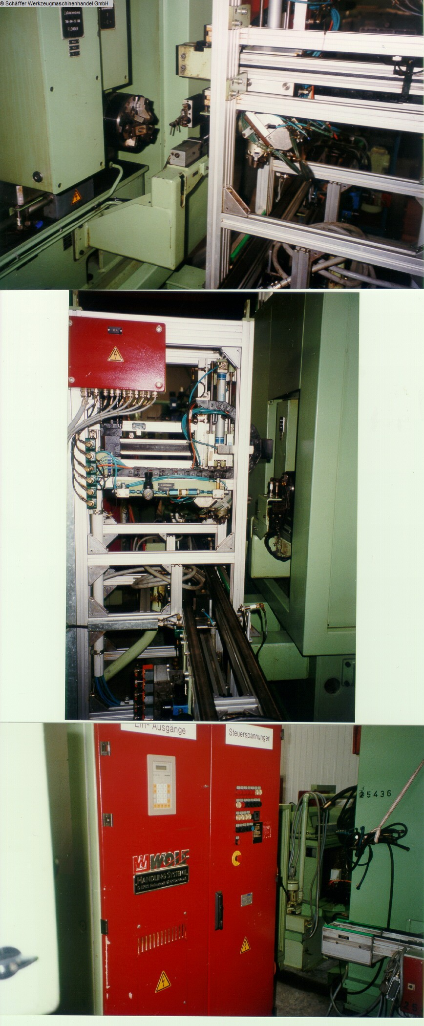 gebrauchte Kurvenschleifmaschine SCHIESS-KOPP SK 11