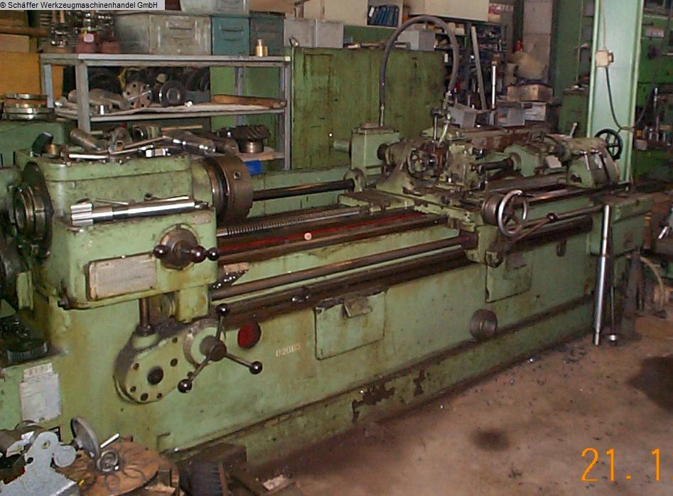gebrauchte Langgewinde- und Keilwellenfräsmaschine WMW HECKERT GFL 400x2000
