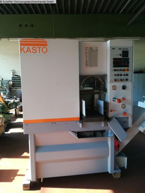 Scie à bande automatique d'occasion KASTO SSB 260 VA CNC