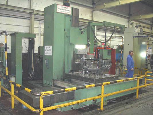 gebrauchte Bohrwerke / Bearbeitungszentren / Bohrmaschinen Tischbohrwerk UNION BFKF 110