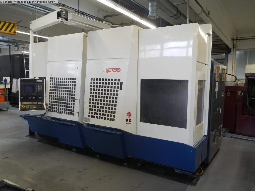 used Machines available immediately Machining Center - Vertical HURON EX C