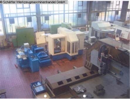 gebrauchte Schleifmaschinen Profil-Vollschnittschleifmaschine LOG O MATIC LFS 6540 P CNC