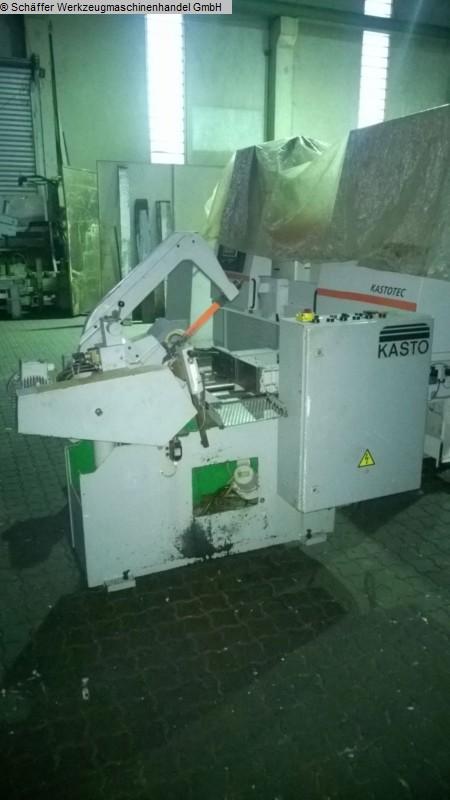 gebrauchte Sägen Bügelsägeautomat KASTO PSB 220 AU