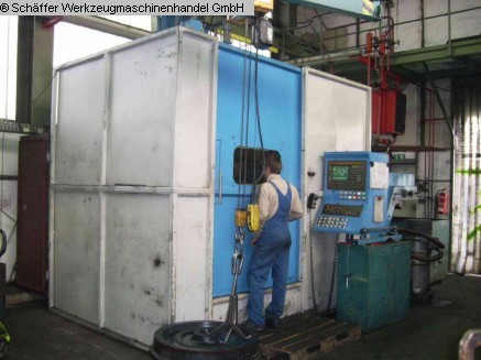 used  CNC-Vertical Turret Lathe - Single Col. TOS (FEICHTER) SKQ 8