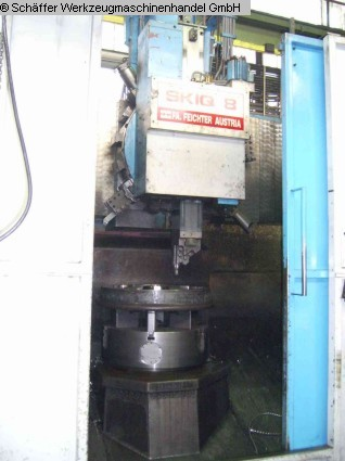 used Vertical Turret Lathe - Single Column TOS (FEICHTER) SKQ 8