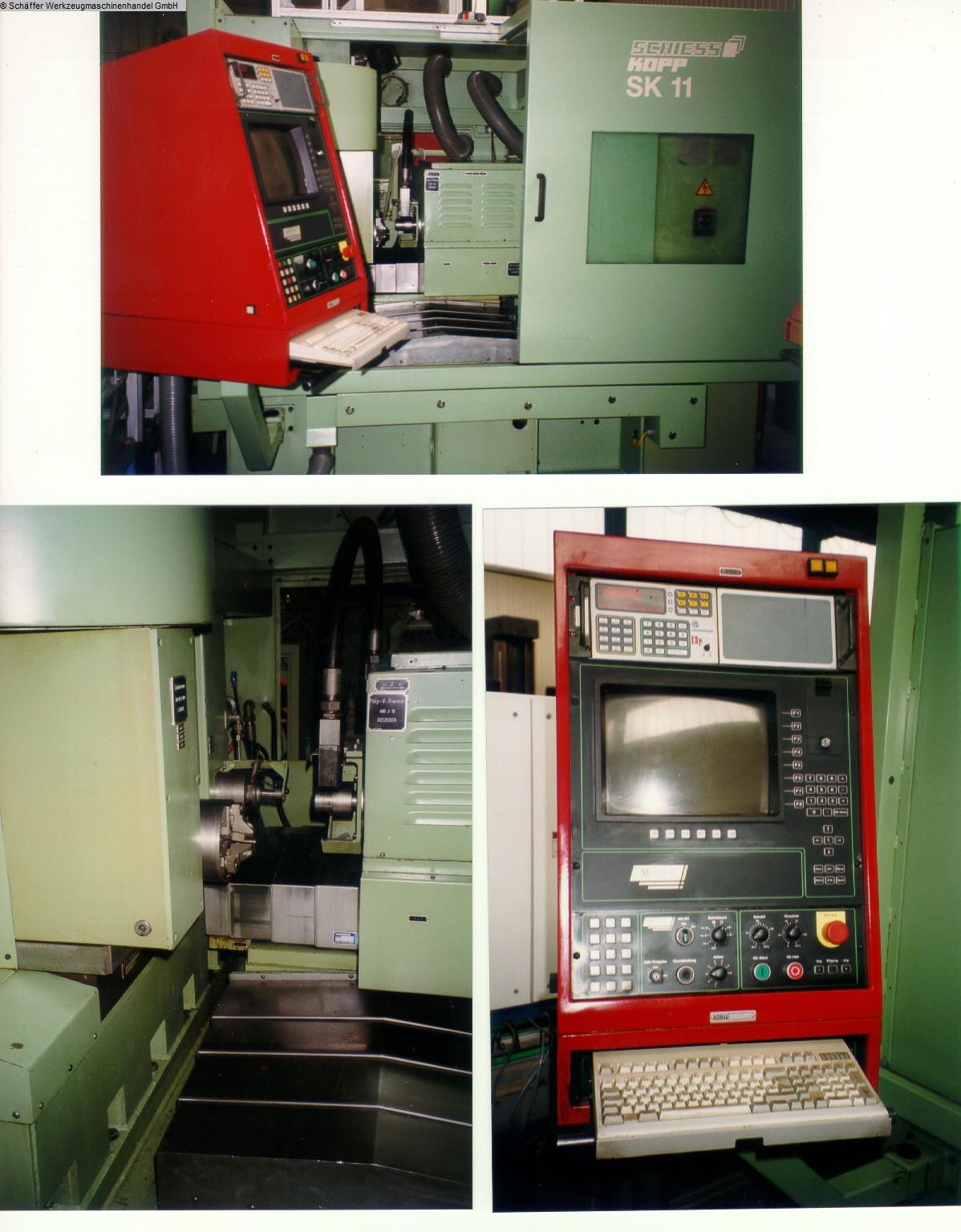 gebrauchte Schleifmaschinen Kurvenschleifmaschine SCHIESS-KOPP SK 11