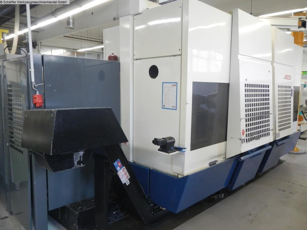 used Machining Center - Vertical HURON EX C