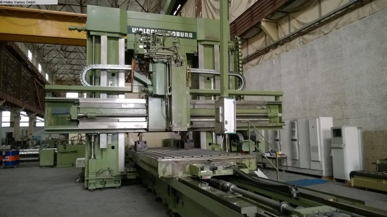 gebrauchte Fräsmaschinen Langfräsmaschine - Doppelständer WALDRICH COBURG 17 -10 FP 225