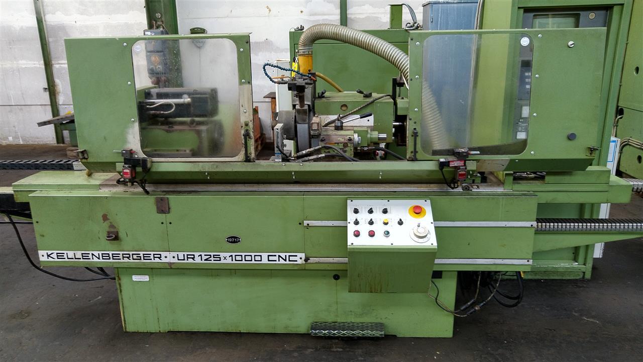 gebrauchte Schleifmaschinen Rundschleifmaschine KELLENBERGER UR 125 x 1000
