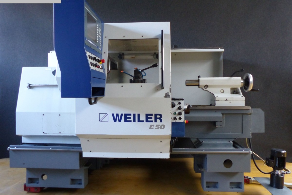 used Lathes Lathe -  cycle-controlled WEILER E 70 x 2000