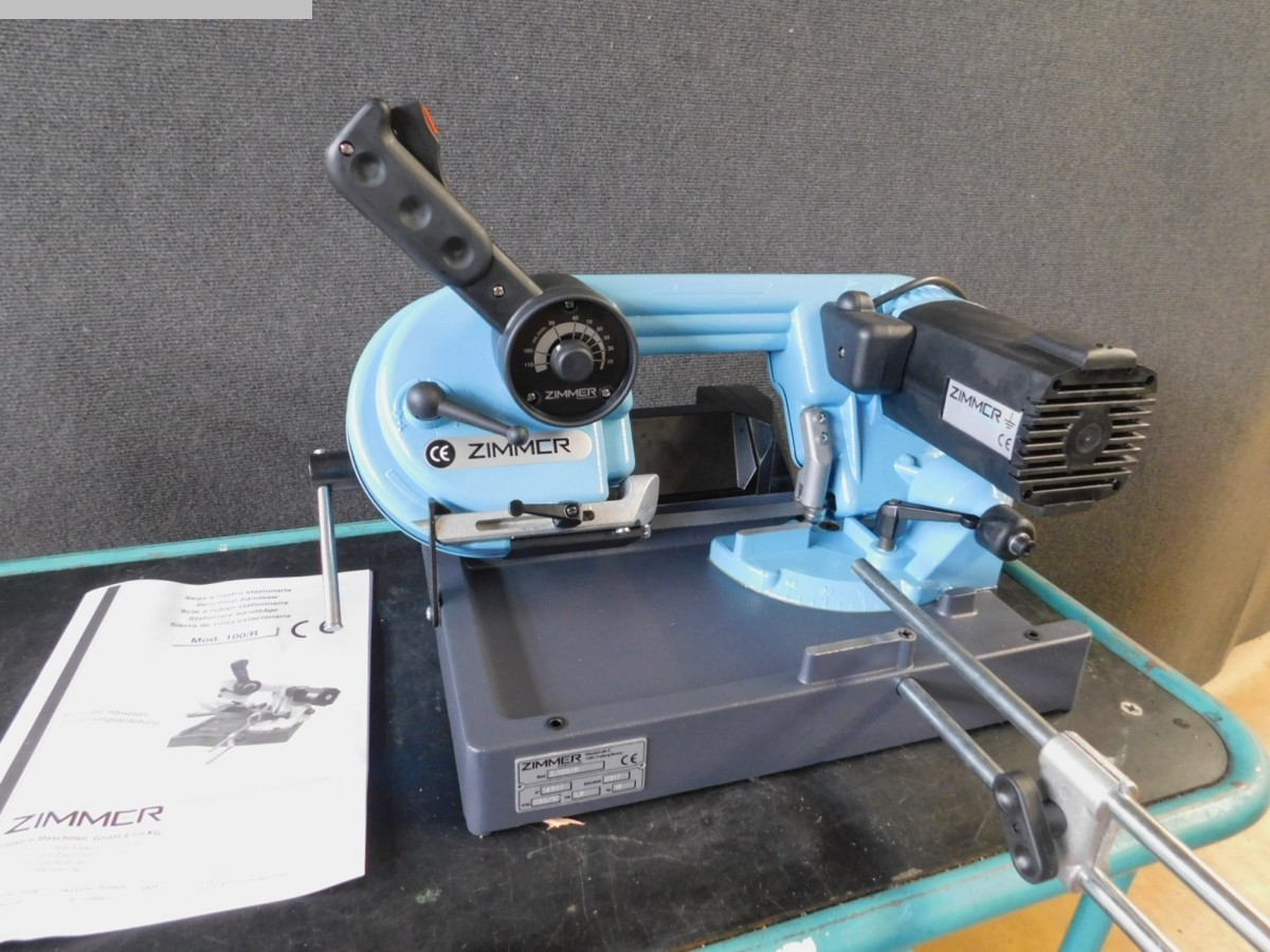 used  Bandsaw - Horizontal ZIMMER Z 100/R