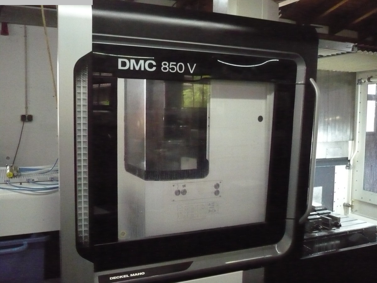 used  Milling Machine - Vertical DMG MORI DMC 850 V