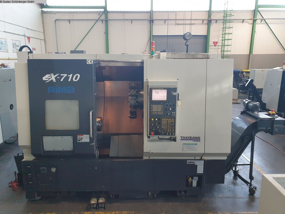 used Lathes CNC Lathe - Inclined Bed Type TAKISAWA EX-710