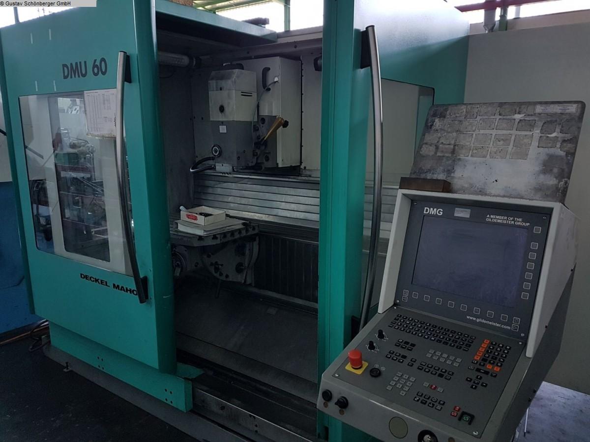 gebrauchte  Werkzeugfräsmaschine - Universal DMG-DECKEL DMU 60T