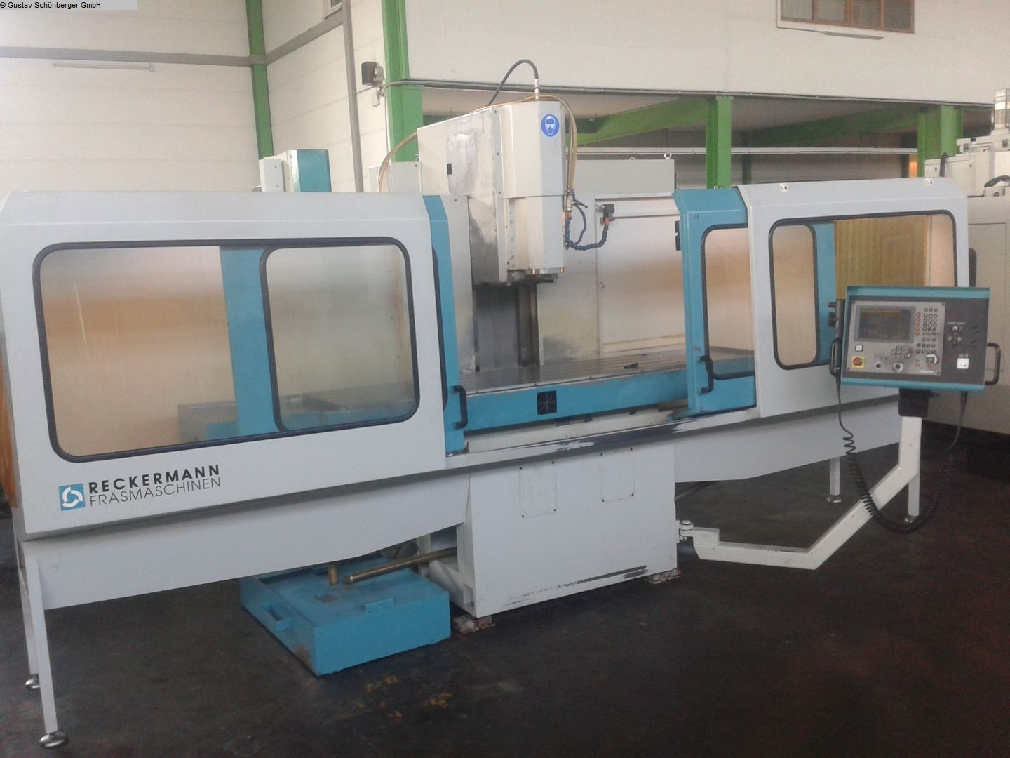 used  Bed Type Milling Machine - Vertical RECKERMANN Beta 5-V
