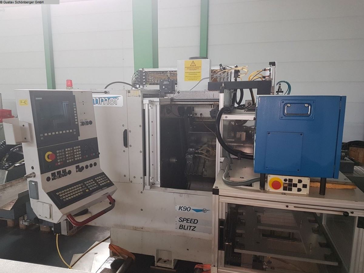 used CNC Lathe KUMMER K90 A